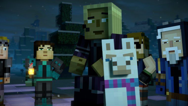 minecraft story mode characters season 2