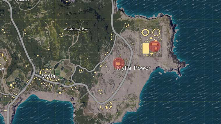 Playerunknown S Battlegrounds Maps Loot Maps Pictures: Where Are The Best Looting Spots In PUBG?