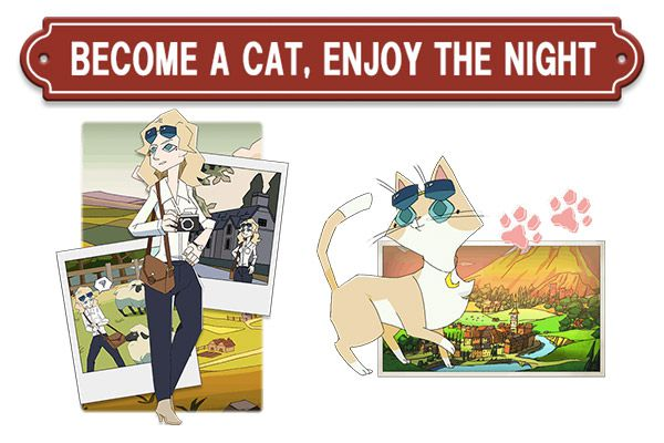 Swery announces The Good Life, a daily life RPG where humans turn into cats News  The Good Life PC Gaming