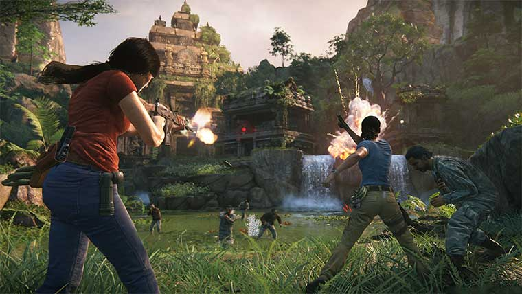 Reviews  Uncharted: The Lost Legacy Uncharted 4