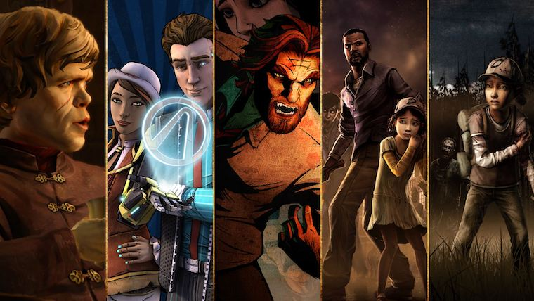 News  The Walking Dead Telltale Games Minecraft: Story Mode Batman: The Enemy Within