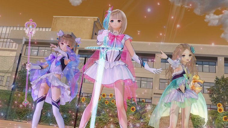Blue Reflection Review 09