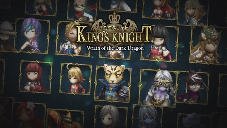 Mobile  Square Enix Mobile Games King's Knight Final Fantasy XV
