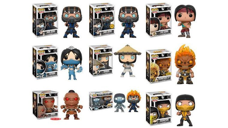 Funko Is Launching a Line of Mortal Kombat Pop! Figures | Attack of ...