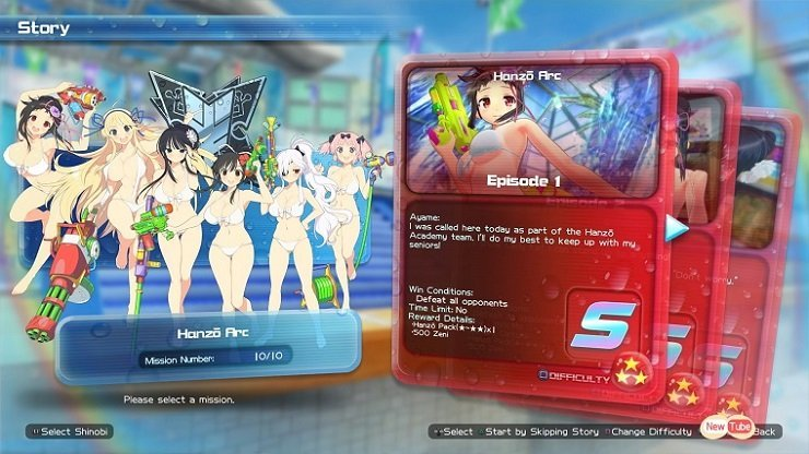 Reviews  Senran Kagura: Peach Beach Splash Senran Kagura PlayStation 4