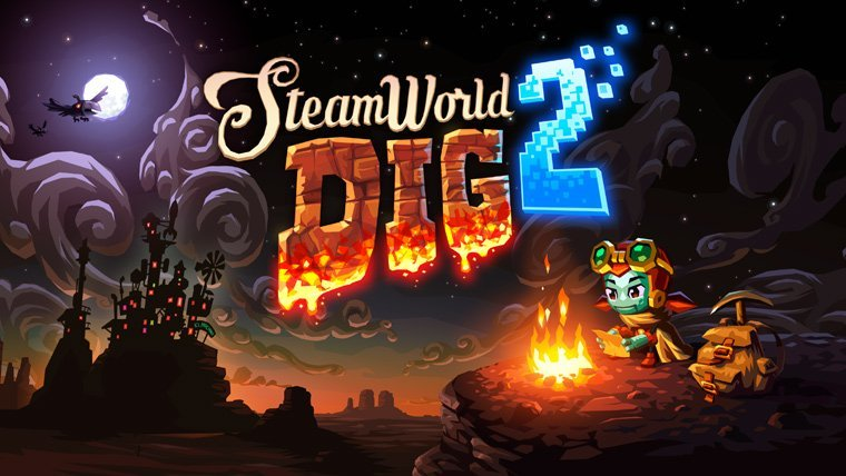 SteamWorld Dig 2 Coming to PS4 and PSVita This Month News  SteamWorld Dig 2 Playstation Vita PlayStation 4 Indie Image & Form