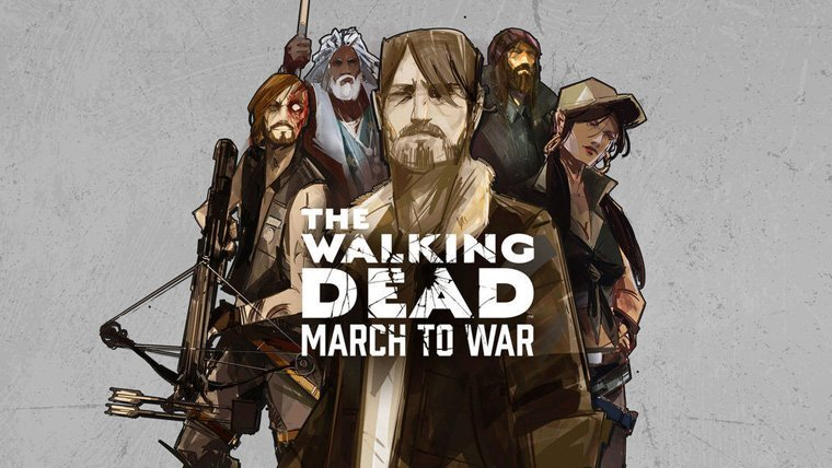 Mobile News  The Walking Dead: March to War The Walking Dead Mobile Games Disruptor Beam