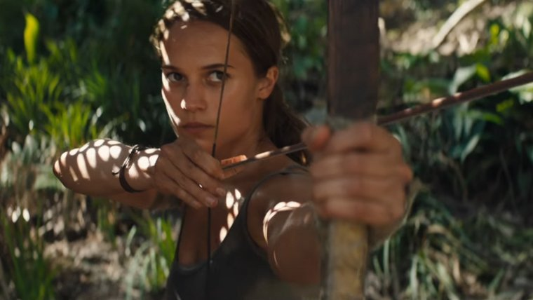 Watch the First Trailer of the New Tomb Raider Movie News  Warner Bros Tomb Raider Square Enix Movies