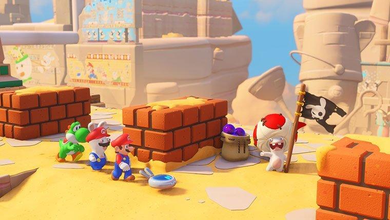 Nintendo Switch Nintendo Mario+Rabbids: Kingdom Battle