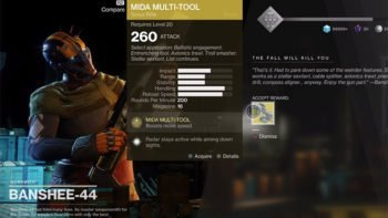 Destiny 2 Guide: MIDA Multi-Tool Exotic Quest