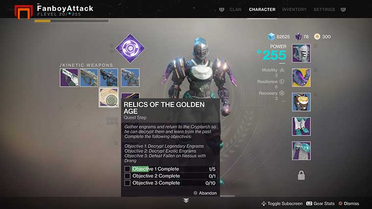 relics-of-the-golden-age-quest-exotic-destiny-2