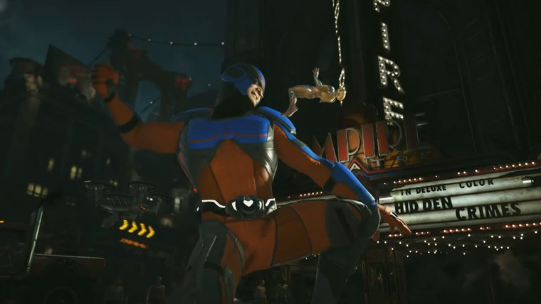 Atom Joining Injustice 2 as a DLC Character News  Xbox One Warner Bros PlayStation 4 Netherrealm Studios Injustice 2