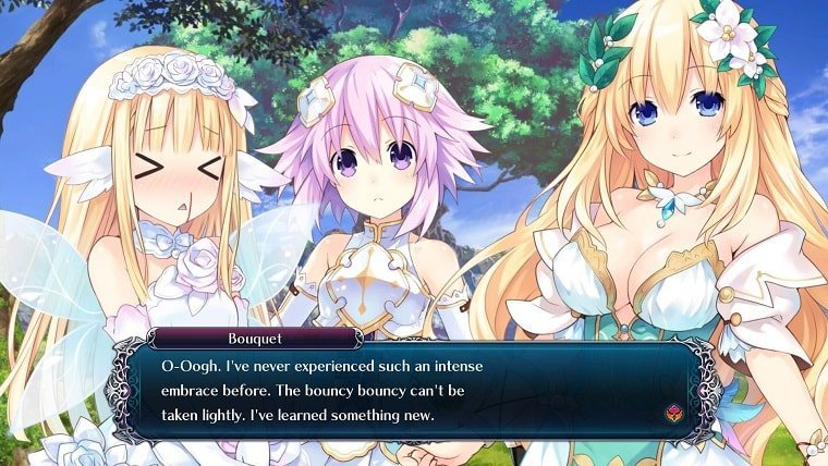 Reviews  Tamsoft Neptunia Idea Factory Cyberdimension Neptunia: 4 Goddesses Online Compile Heart