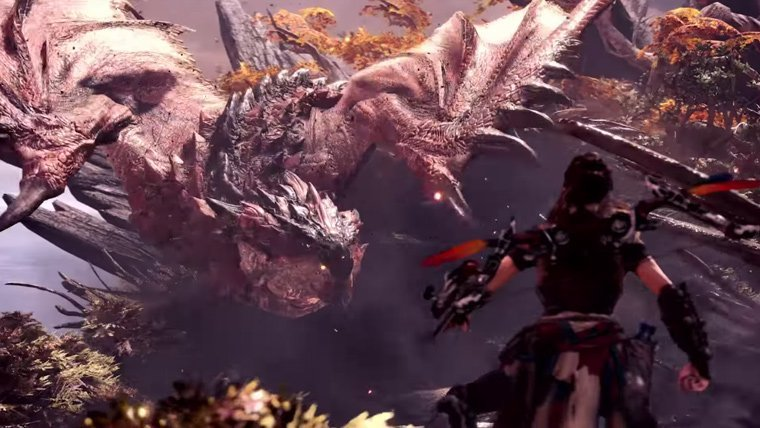 Horizon Zero Dawn's Aloy Comes to Monster Hunter World in New Trailer