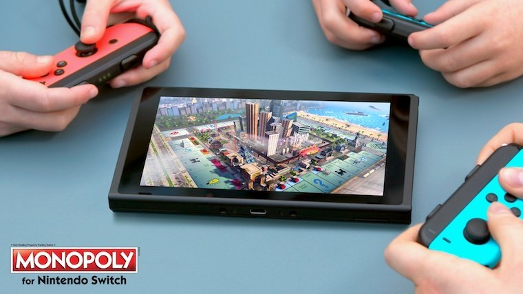 Monopoly Coming to Nintendo Switch 10/31 News Nintendo  Nintendo Switch Monopoly