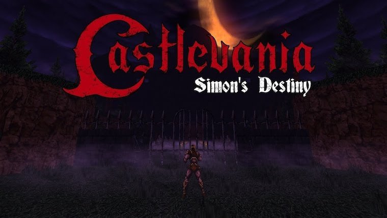 There is a Fan-Made First-Person Castlevania Game News  Indie DOOM Castlevania
