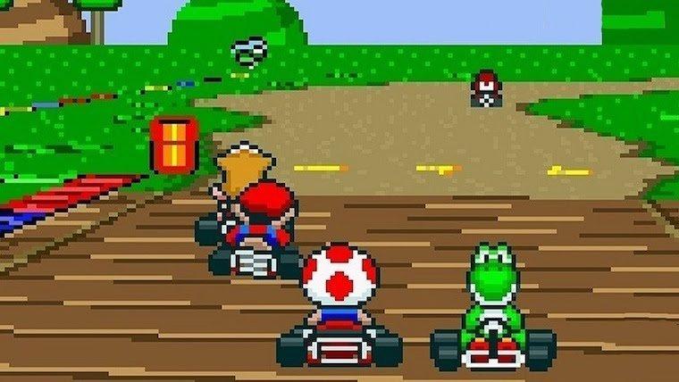 Artificial Intelligence Learning to Beat Humans in Mario Kart News  Nintendo Mario Kart Mario