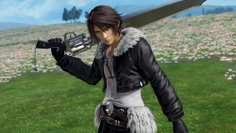 Dissidia Final Fantasy NT New Trailers Showcase Noctis, Final Fantasy VIII Stage