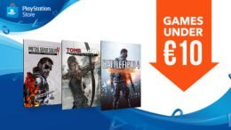 New 'Games Under €10' Sale on EU PS Store