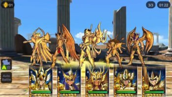 Saint Seiya: Cosmo Fantasy Launches Today on Mobile