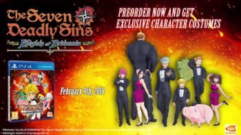 The Seven Deadly Sins: Knights of Britannia Launches February 9
