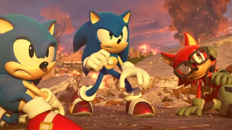Sonic Forces Gets New Trailer Ahead Of Tomorrow's Release News  Sonic The Hedgehog Sonic Forces Sega