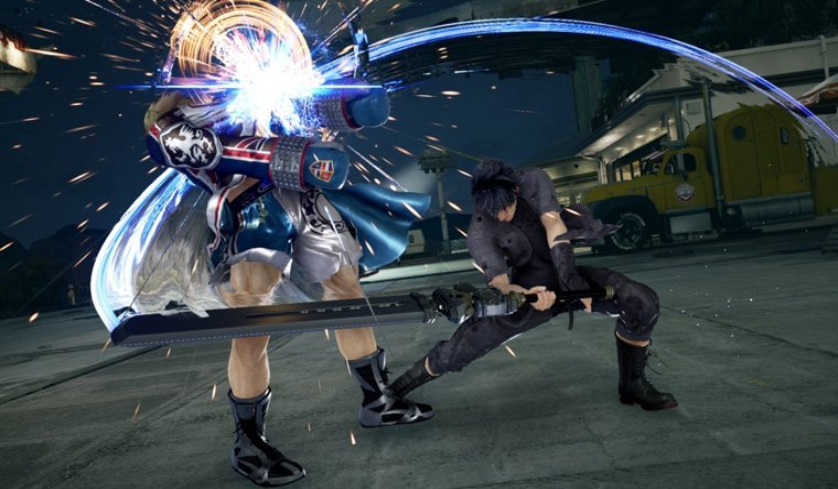 Noctis from Final Fantasy XV is Joining Tekken 7 News  Tekken 7 Final Fantasy XV Bandai Namco
