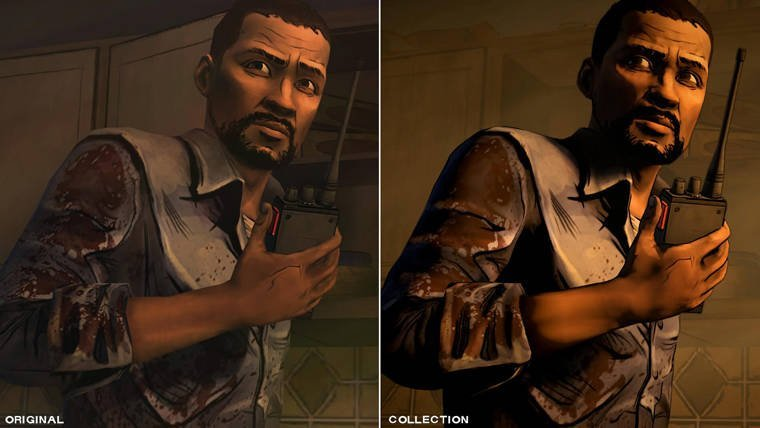 New The Walking Dead Collection Trailer Shows Graphic Improvements