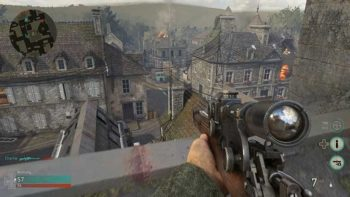 Call of Duty WW2 Guide: Best Sniping Spot Sainte Marie Du Mont (Out of Map)