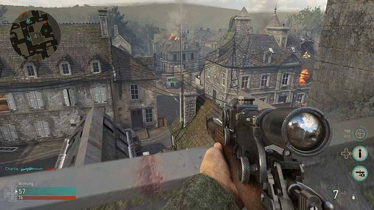 best sniping spot call of duty ww2