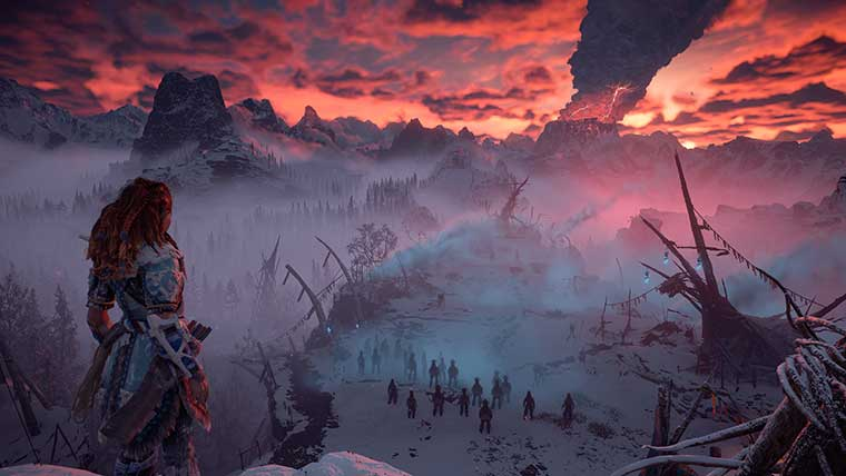 playstation Horizon: Zero Dawn Horizon Zero Dawn: The Frozen Wilds