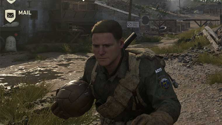 Call of Duty WW2 Guide: How to Find Gridiron Ball in Headquarters GameGuides  Call of Duty: WW2 Call of Duty WW2 Guides
