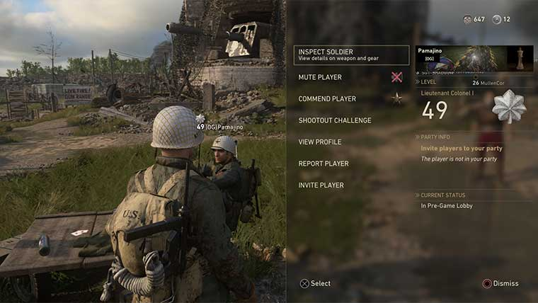 Call of Duty WW2 Guide: How to Challenge Other Players in Headquarters Games  Call of Duty: WW2 Call of Duty WW2 Guides