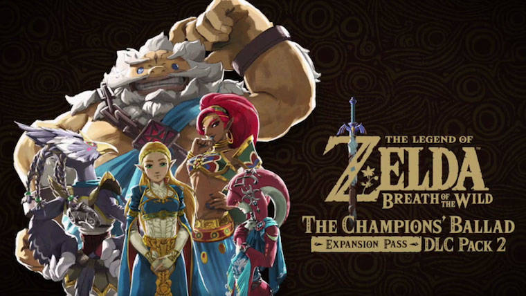 Zelda BotW's The Champions&#039 Ballad DLC is Available Now News Zelda Switch Nintendo Breath of the Wild