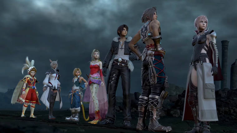 News  Square Enix PlayStation 4 Dissidia: Final Fantasy NT