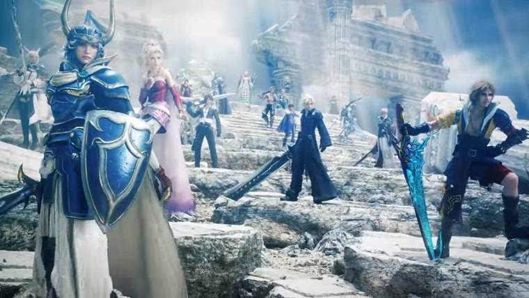 Dissidia Final Fantasy NT opening movie