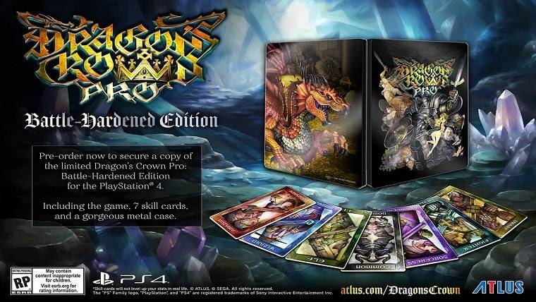 Dragon's Crown Pro Battle-Hardened Edition Pre-Order Available Today