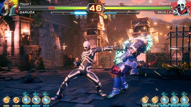 Articles  PlayStation 4 Fighting EX Layer Arika