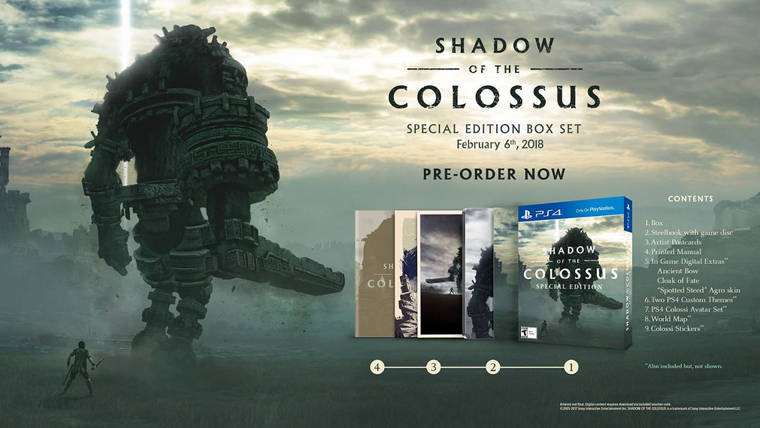 New visuals debut for Shadow of the Colossus for the PlayStation 4