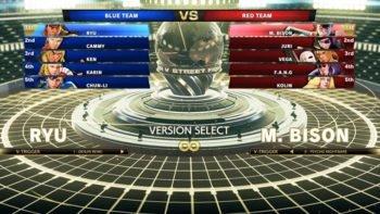 Street Fighter V Details Upcoming Team Versus Mode