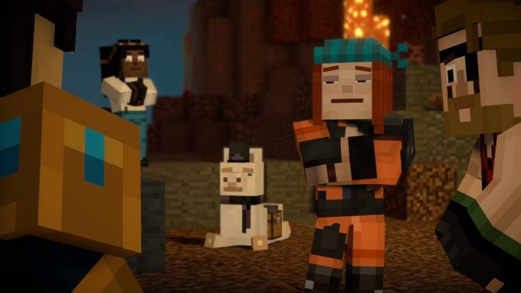 Minecraft Story Mode Season 2 Episode 5 Word Of Passage
