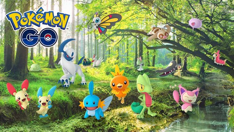 Pokémon GO Adding 50 Gen 3 Monsters In Massive Update