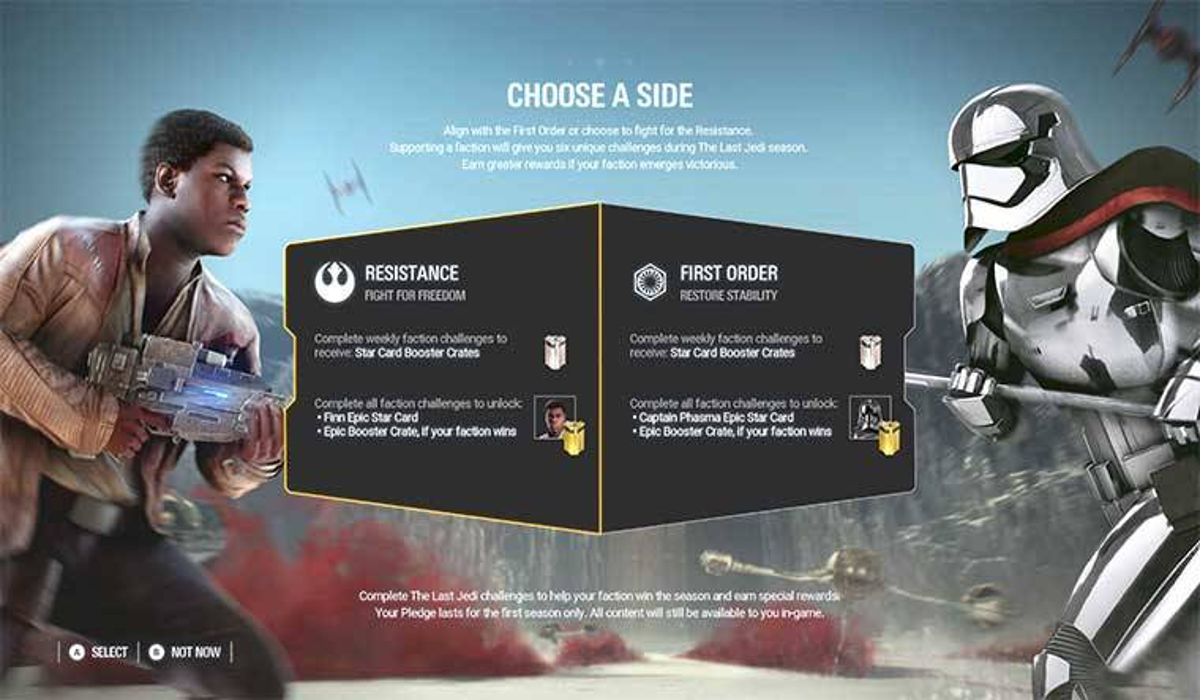 News  Star Wars Battlefront 2