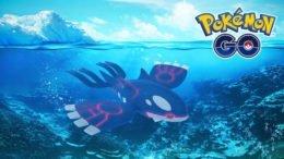 Kyogre Appears in Pokémon GO