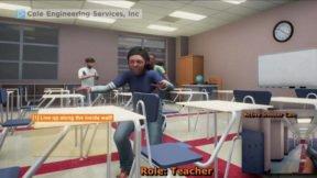 VR Game to Teach Teachers How to Handle School Shootings