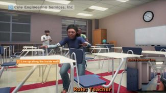 VR Game to Teach Teachers How to Handle School Shootings