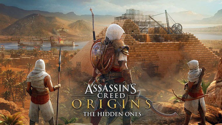 Assassin's Creed Origins gets its first story expansion this month