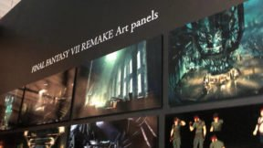 New Final Fantasy VII Remake Artwork Surfaces at FF 30th Anniversary Exhibition
