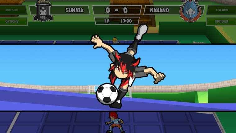 News  PC GAMES Indie Ganbare! Super Strikers Early Access