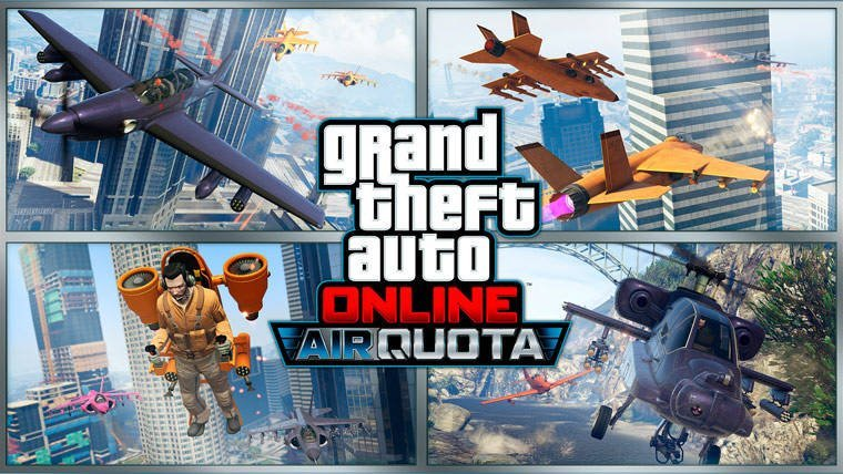Grand Theft Auto Online Air Quota